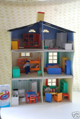The IKEA house and it's furniture. I found this image on a Ebay page