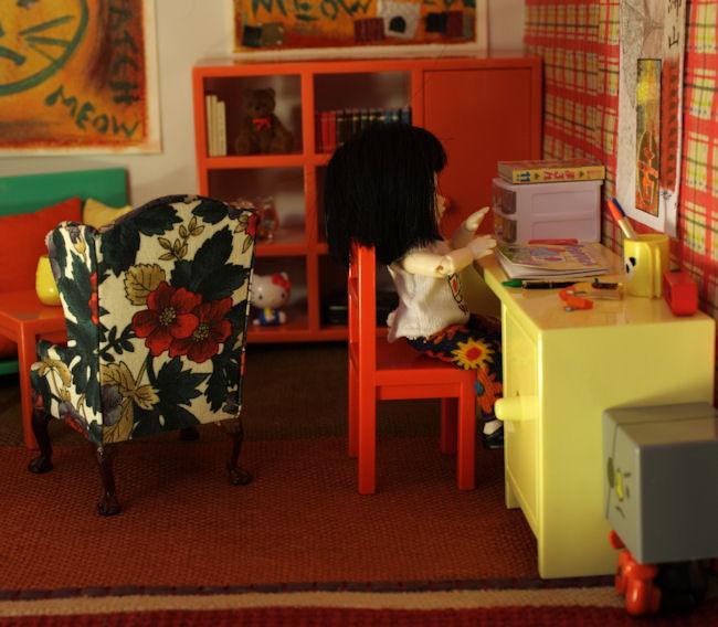 The IKEA furniture in the Lati house