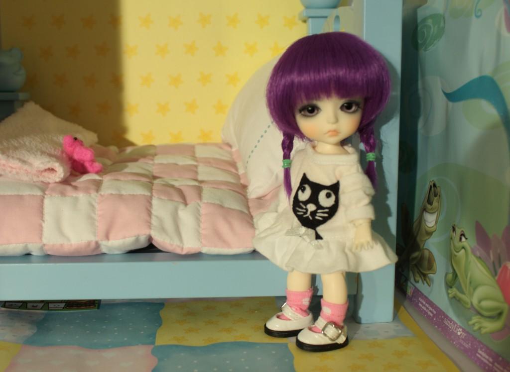 This my bed,  Dulcina says