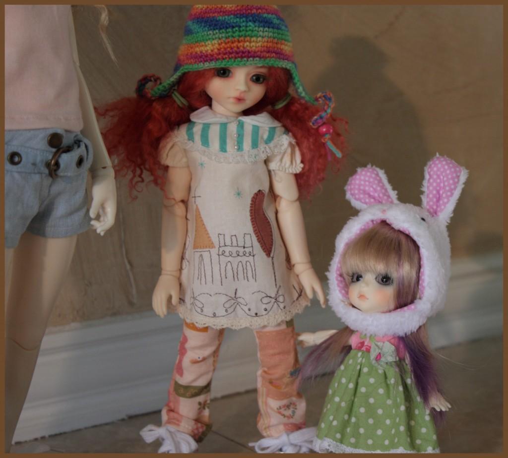 Oh man, that dolls so big!
