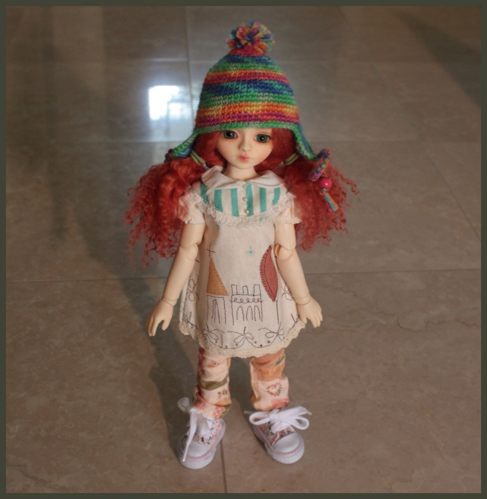 Domadoll Kkotmu, she is a YOSD and her name is Carnation Lily Rose